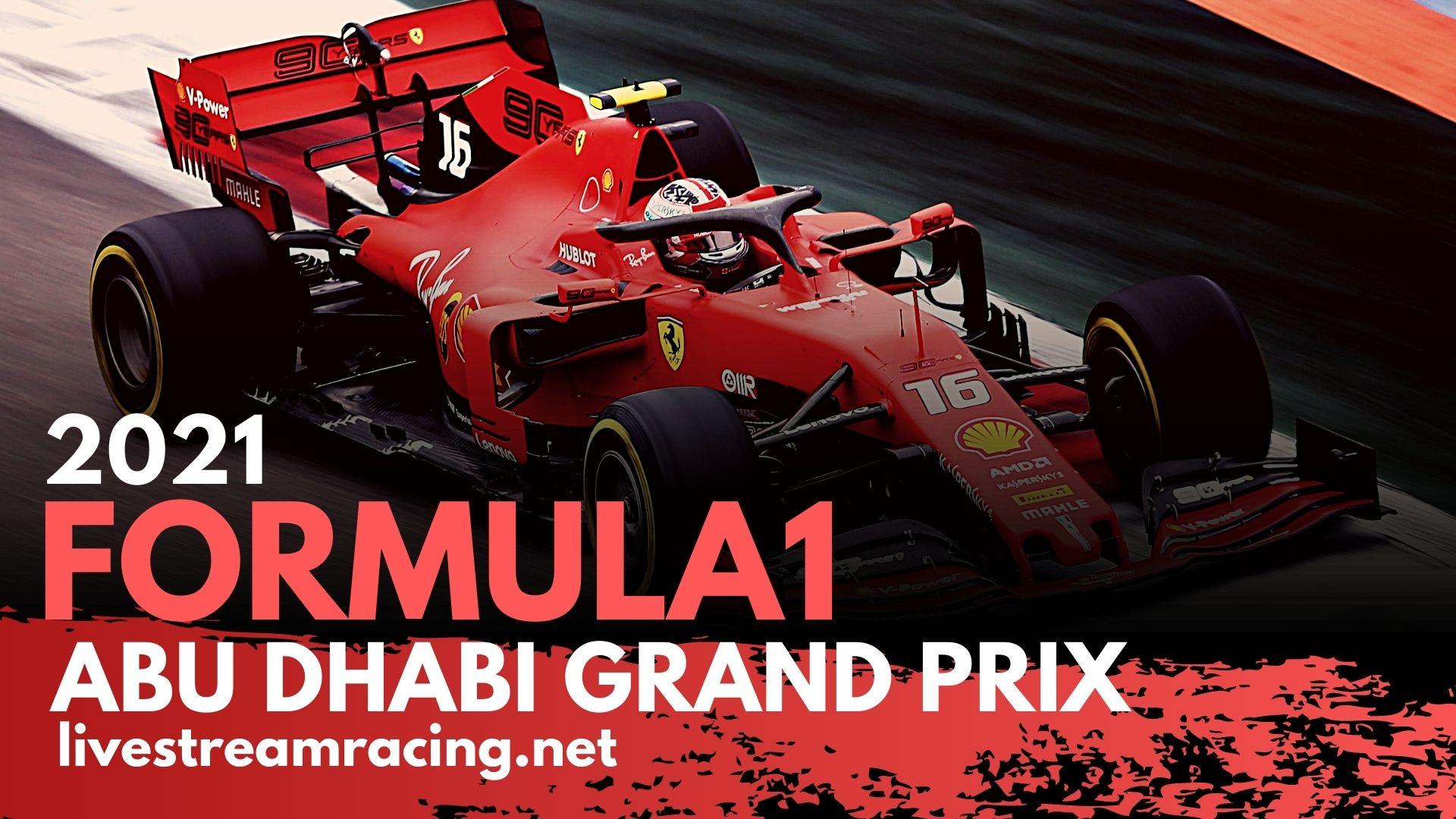 Abu Dhabi F1 GP Live Stream 2021 | Full Race Replay